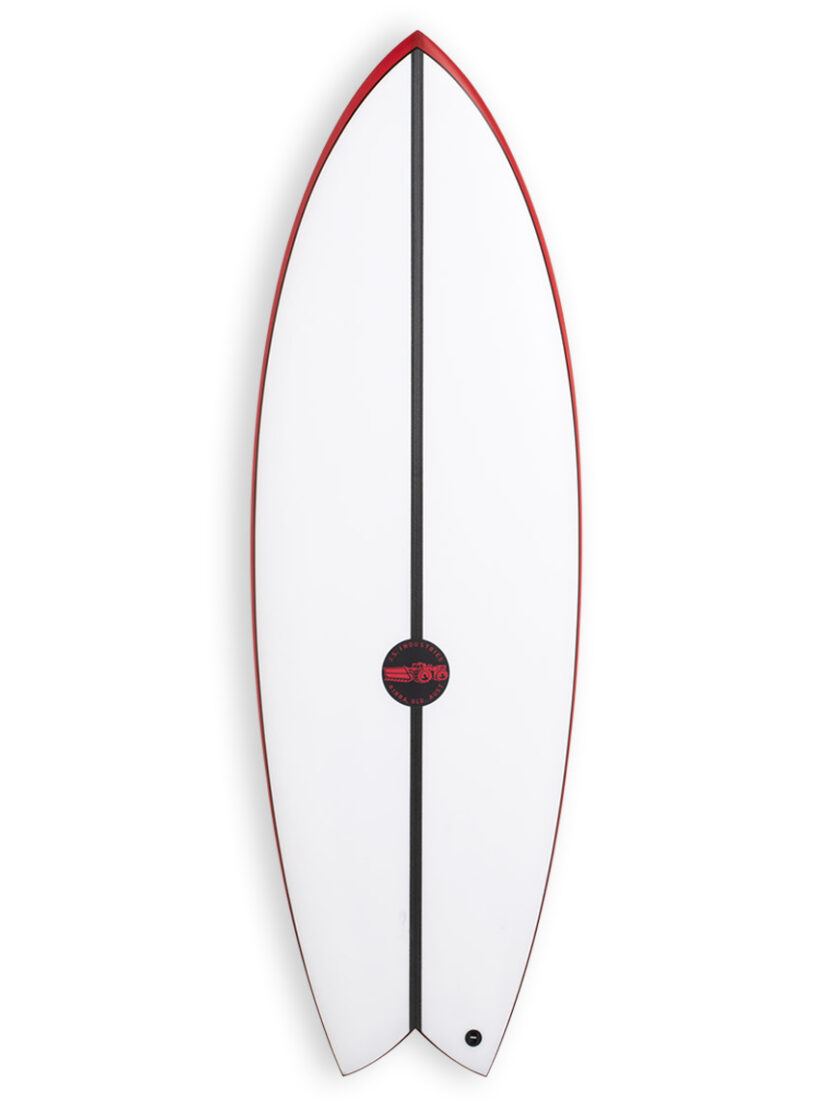 JS Red BAron EPS Twin fin Surfboard Deck