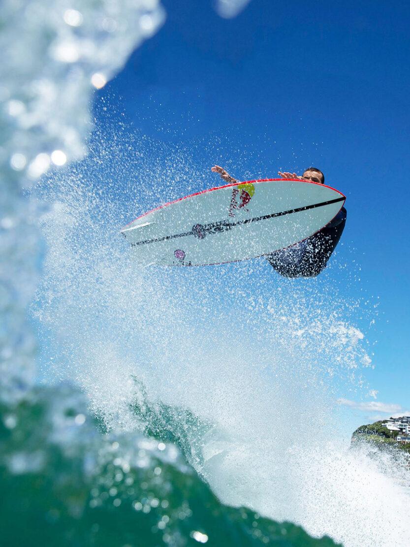 JS Red BAron EPS Twin fin Surfboard Julian wilson